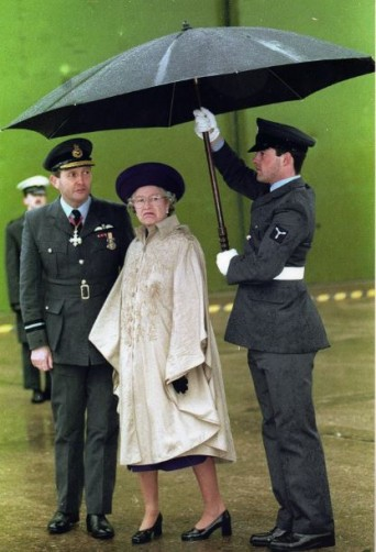 Doormans Umbrella used by The RAF