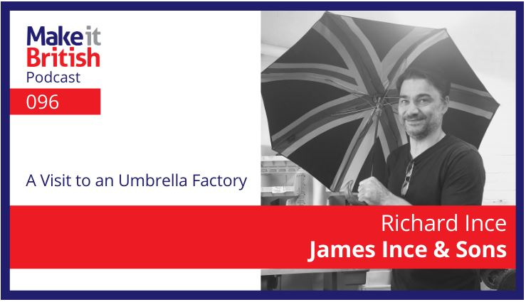 MIB Podcast96 visit to an umbrella factory